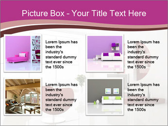 Living room PowerPoint Template - Slide 14