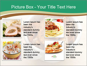 A bowl of baked PowerPoint Template - Slide 14