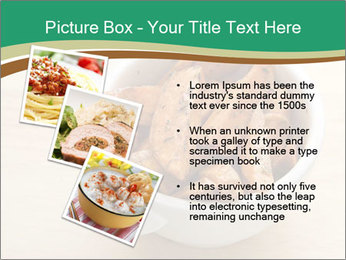 A bowl of baked PowerPoint Templates - Slide 17