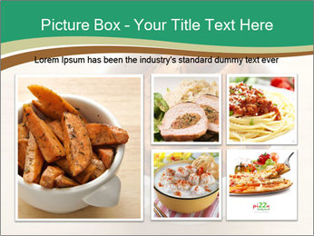 A bowl of baked PowerPoint Templates - Slide 19