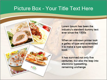 A bowl of baked PowerPoint Template - Slide 23