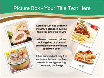 A bowl of baked PowerPoint Template - Slide 24