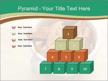 A bowl of baked PowerPoint Templates - Slide 31