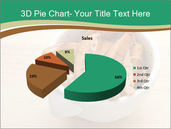 A bowl of baked PowerPoint Templates - Slide 35