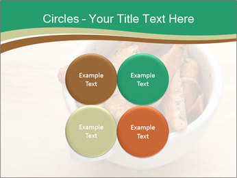 A bowl of baked PowerPoint Templates - Slide 38
