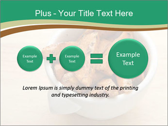 A bowl of baked PowerPoint Template - Slide 75
