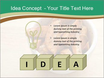A bowl of baked PowerPoint Template - Slide 80