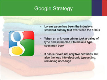 Colorful towels PowerPoint Template - Slide 10