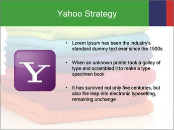 Colorful towels PowerPoint Template - Slide 11