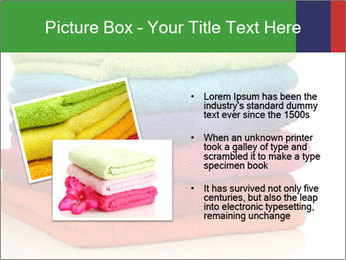 Colorful towels PowerPoint Template - Slide 20