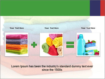 Colorful towels PowerPoint Template - Slide 22