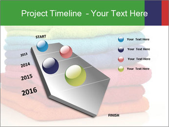 Colorful towels PowerPoint Template - Slide 26