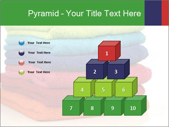 Colorful towels PowerPoint Template - Slide 31