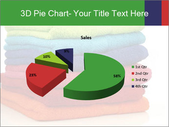 Colorful towels PowerPoint Template - Slide 35