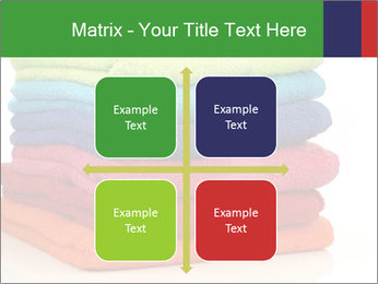 Colorful towels PowerPoint Template - Slide 37