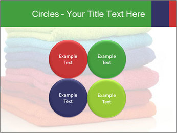 Colorful towels PowerPoint Template - Slide 38