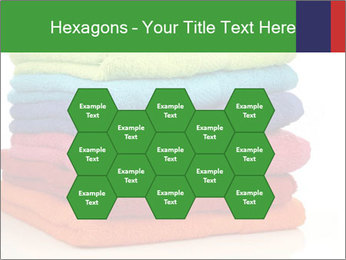 Colorful towels PowerPoint Template - Slide 44
