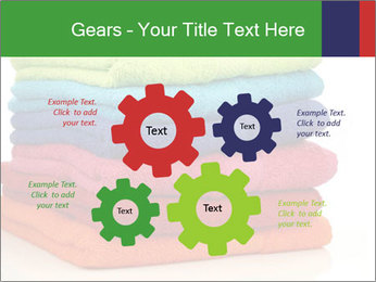 Colorful towels PowerPoint Template - Slide 47