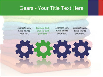 Colorful towels PowerPoint Template - Slide 48