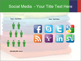 Colorful towels PowerPoint Template - Slide 5