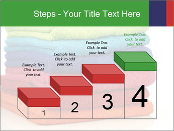 Colorful towels PowerPoint Template - Slide 64