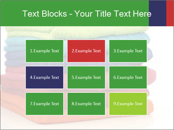 Colorful towels PowerPoint Template - Slide 68