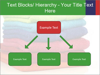 Colorful towels PowerPoint Template - Slide 69