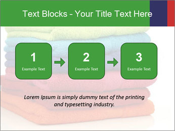 Colorful towels PowerPoint Template - Slide 71