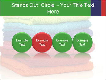 Colorful towels PowerPoint Template - Slide 76
