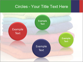 Colorful towels PowerPoint Template - Slide 77