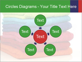 Colorful towels PowerPoint Template - Slide 78