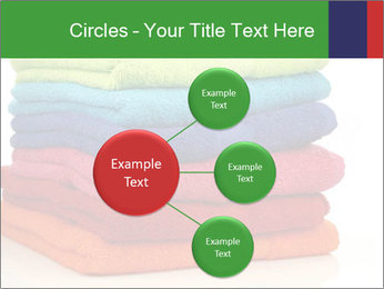 Colorful towels PowerPoint Template - Slide 79