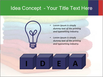 Colorful towels PowerPoint Template - Slide 80