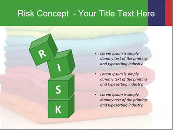 Colorful towels PowerPoint Template - Slide 81