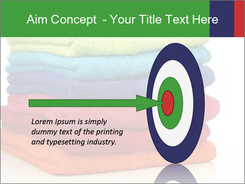 Colorful towels PowerPoint Template - Slide 83