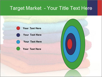 Colorful towels PowerPoint Template - Slide 84