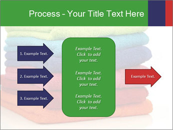 Colorful towels PowerPoint Template - Slide 85