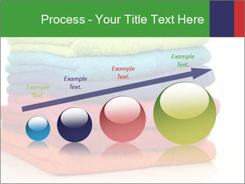 Colorful towels PowerPoint Template - Slide 87