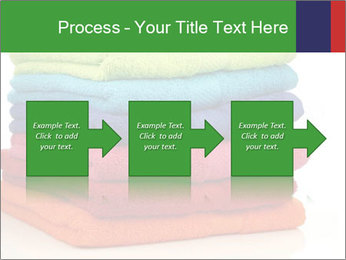 Colorful towels PowerPoint Template - Slide 88