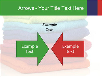 Colorful towels PowerPoint Template - Slide 90