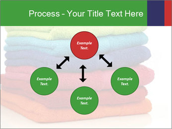 Colorful towels PowerPoint Template - Slide 91