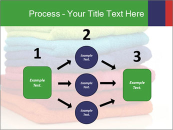 Colorful towels PowerPoint Template - Slide 92