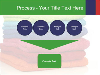 Colorful towels PowerPoint Template - Slide 93