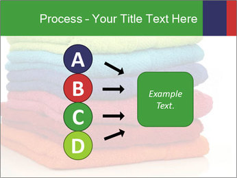 Colorful towels PowerPoint Template - Slide 94