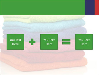 Colorful towels PowerPoint Template - Slide 95