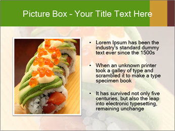 Sushi PowerPoint Template - Slide 13