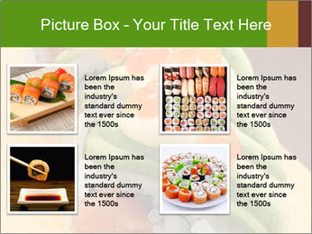 Sushi PowerPoint Template - Slide 14