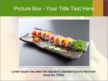 Sushi PowerPoint Template - Slide 15