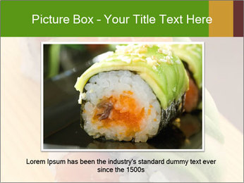 Sushi PowerPoint Template - Slide 16