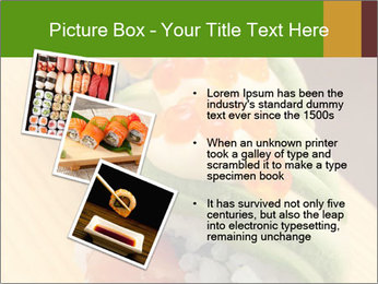 Sushi PowerPoint Template - Slide 17